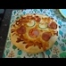 thumbnail Yummy home made pizza decorated by the children.